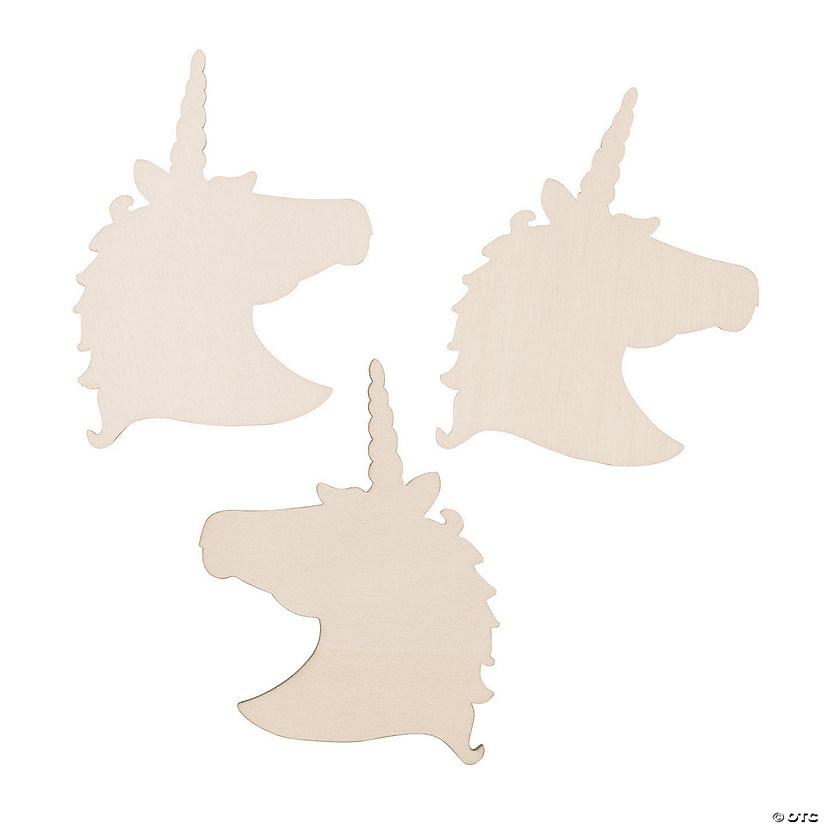 DIY Unfinished Wood Unicorn Shapes