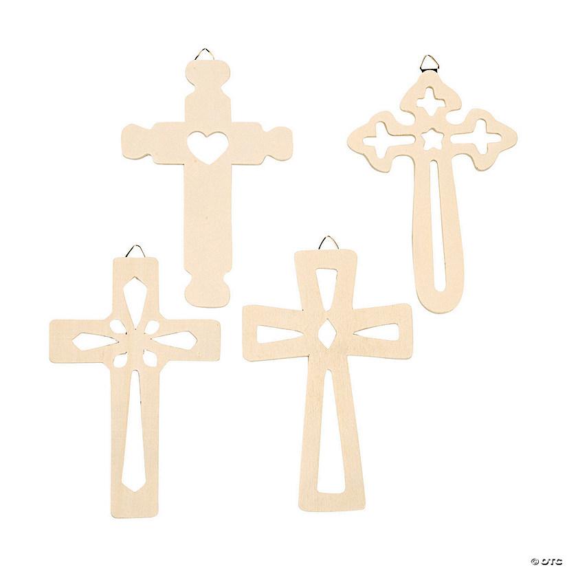 Diy wood wall crosses for Wooden craft crosses wholesale