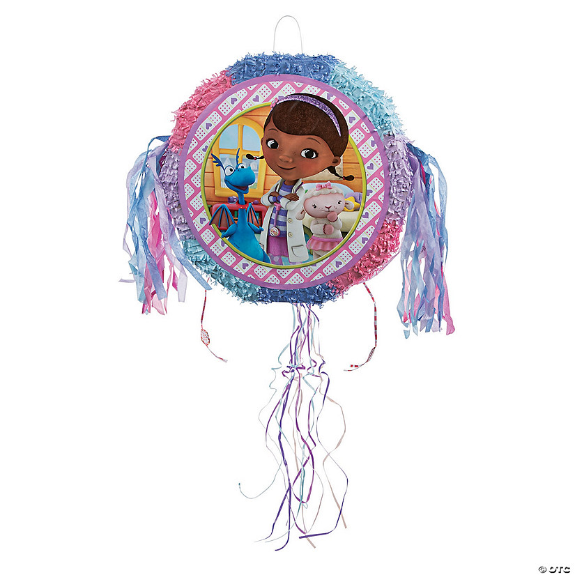 Doc McStuffins Pop-Out Pull-String Piñata