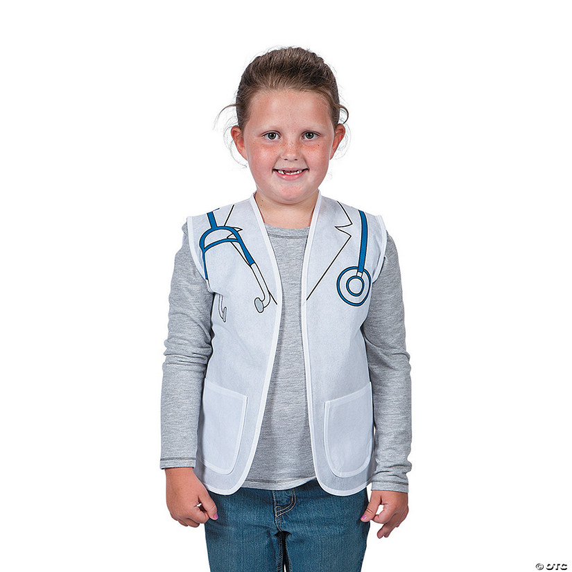 Doctor/Dentist/Veterinarian Vest Costume