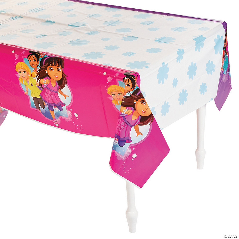 Dora & Friends Plastic Tablecloth