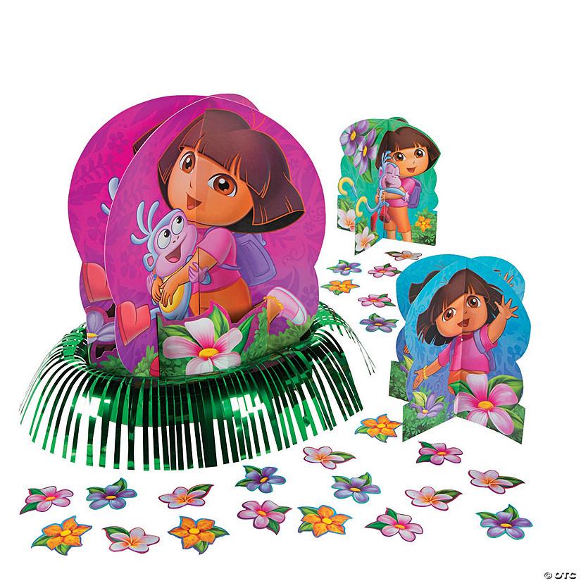 Dora The Explorer Dora S Adventure Table Decorating Kit