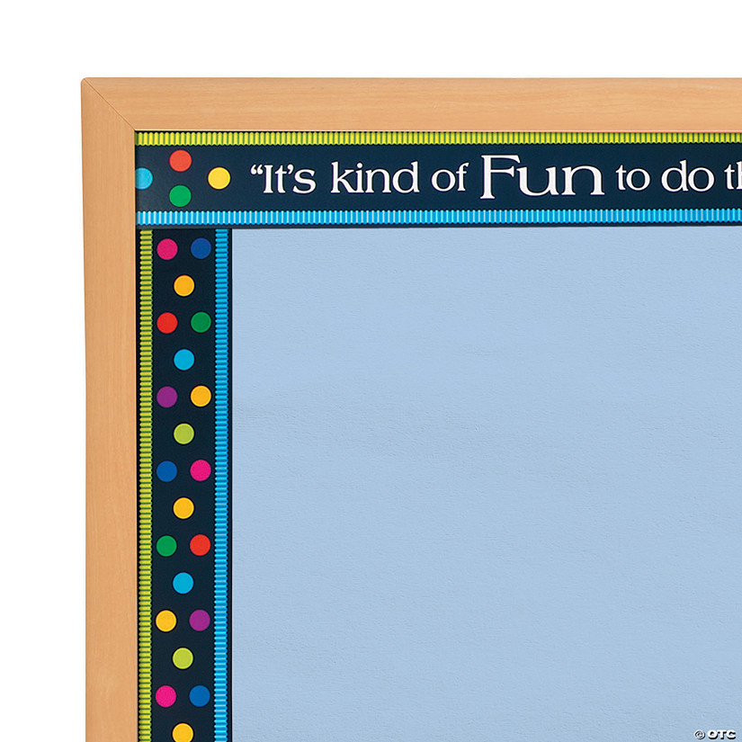 Double-Sided Bulletin Board Borders Italy Punti Felici
