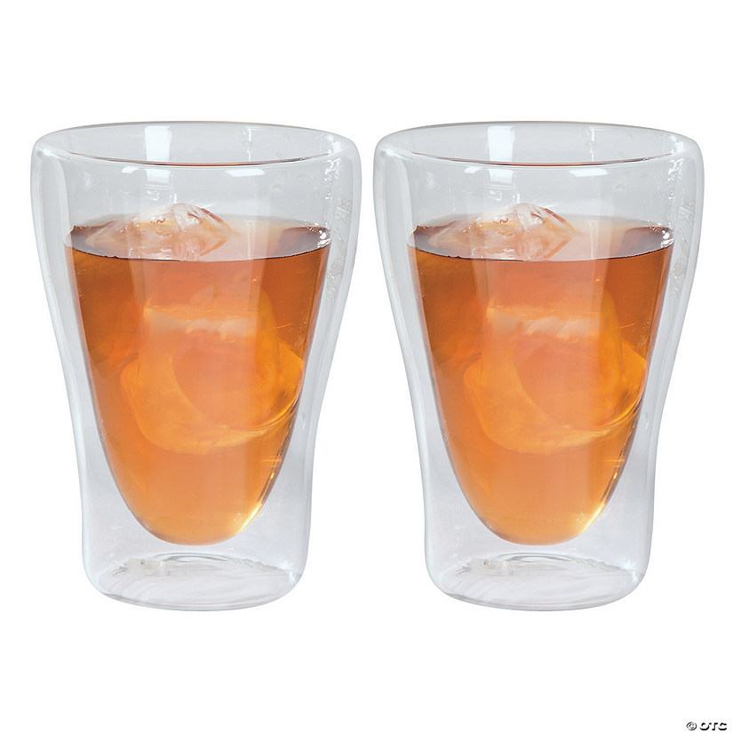 Double Wall Glass Rocks Glasses