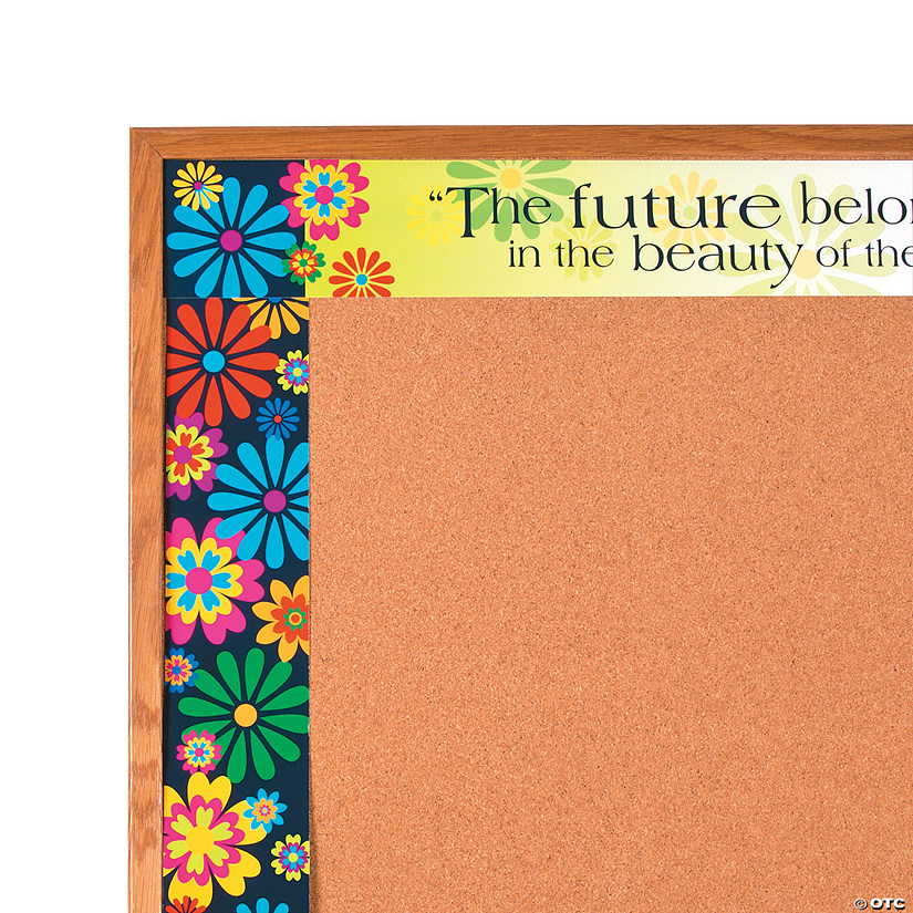 Doubled-Sided Bulletin Board Borders Italy Fiori Bellissimi