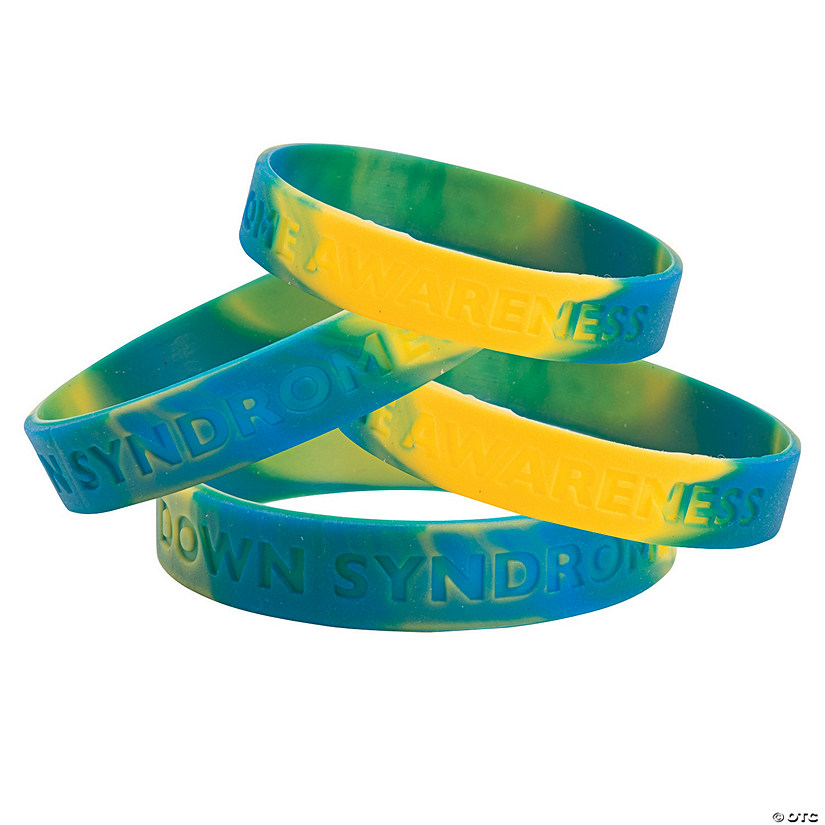 Down Syndrome Awareness Silicone Bracelets