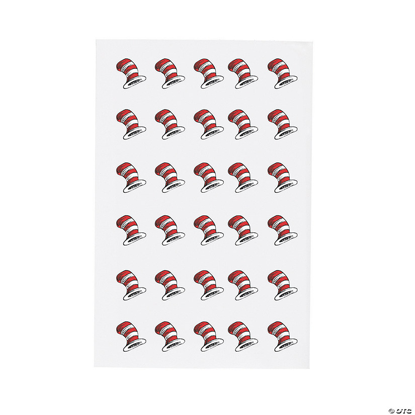 Dr. Seuss™ Cat in the Hat™ Theme Stickers
