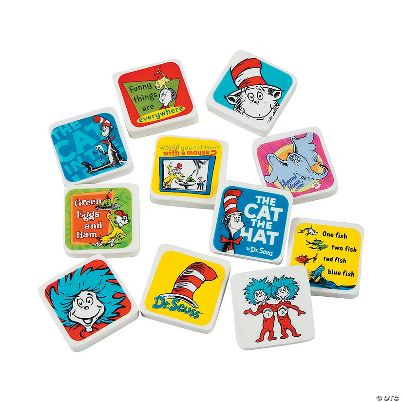 Dr. Seuss™ Character Erasers
