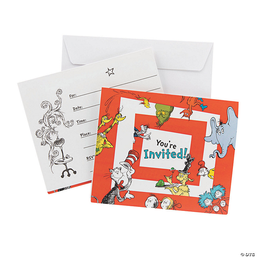 Dr. Seuss™ Invitations