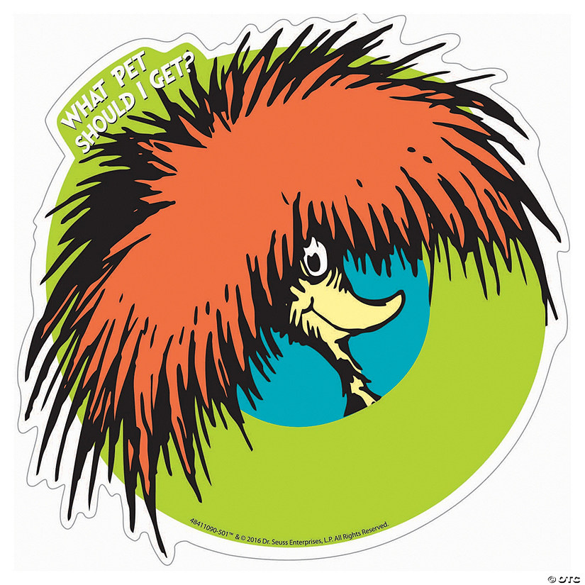 Dr. Seuss<sup>™</sup> What Pet Should I Get<sup>™</sup> Cutouts