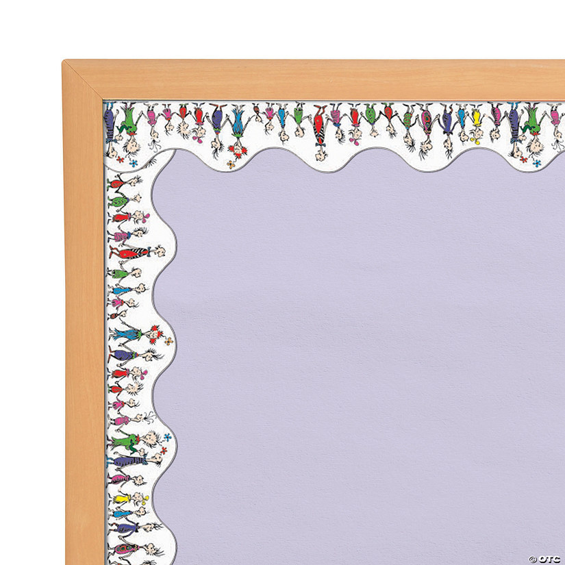 Dr. Seuss<sup>™</sup> Whoville Whos Bulletin Board Border