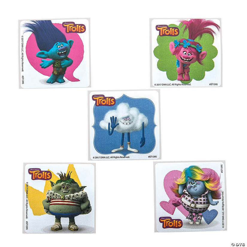 Dreamworks Trolls™ Friends Stickers