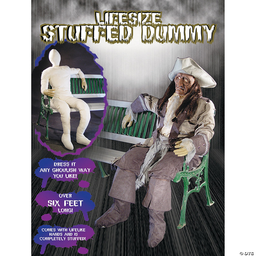 Dummy Full With Hands Adult Men's Costume