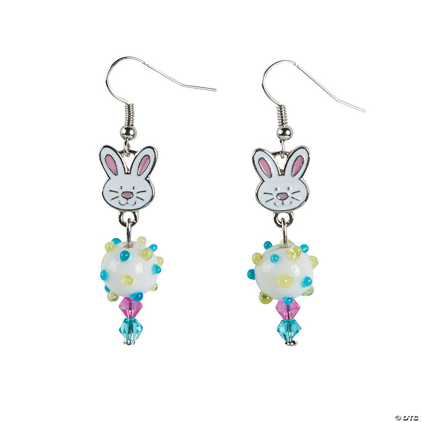 Easter Bunny Earrings Craft Kit