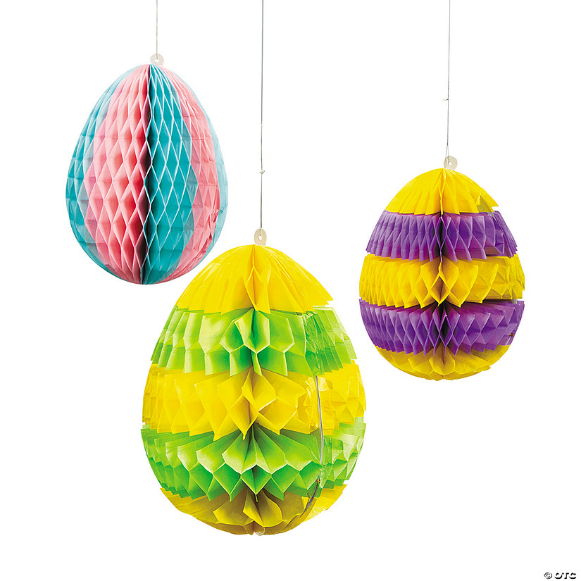 Easter Egg Silhouette Hanging Decorations