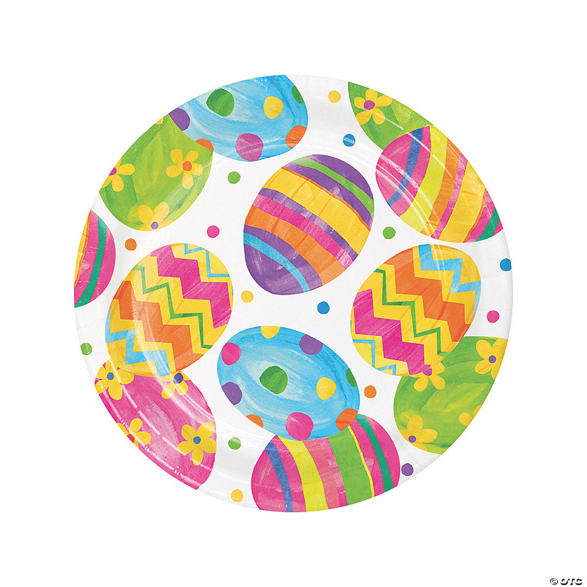 Easter Egg Toss Dinner Paper Plates