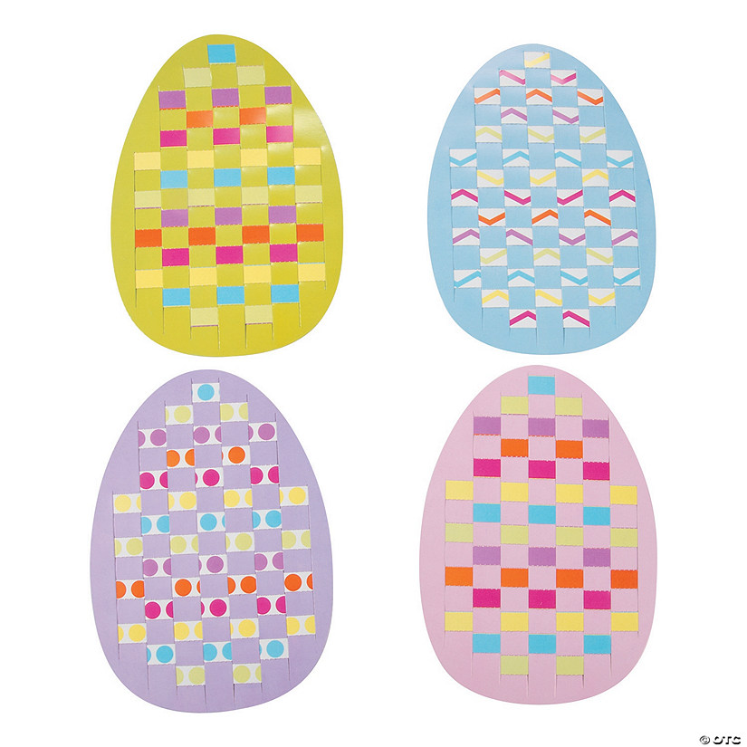 Easter Egg Weaving Mat Craft Kit