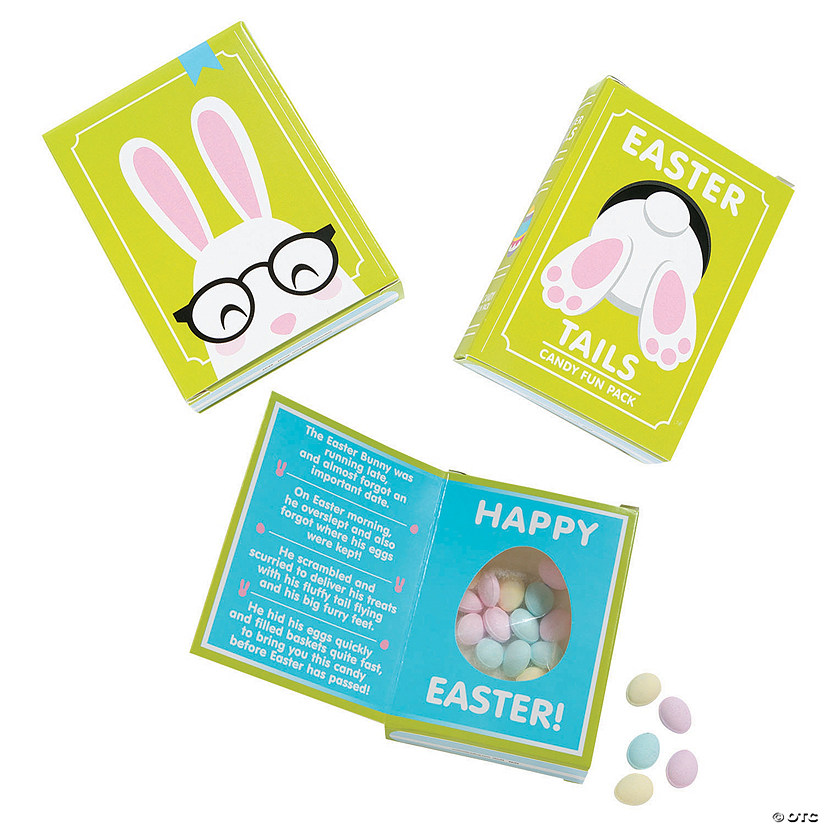 Easter Fun Bunny Candy Fun Packs
