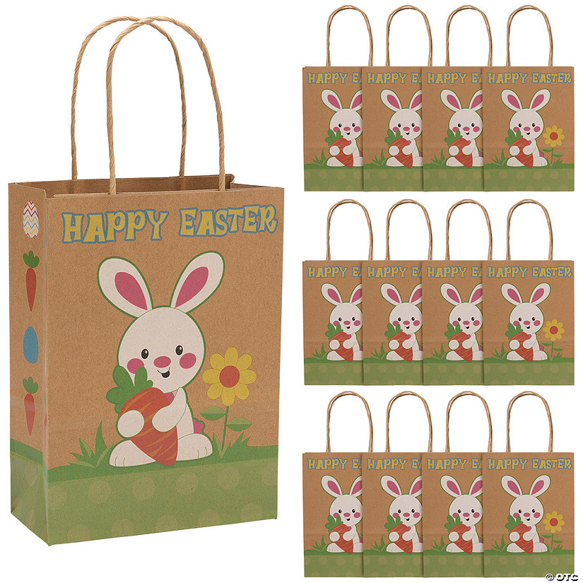 Easter kraft paper gift bags negle Gallery