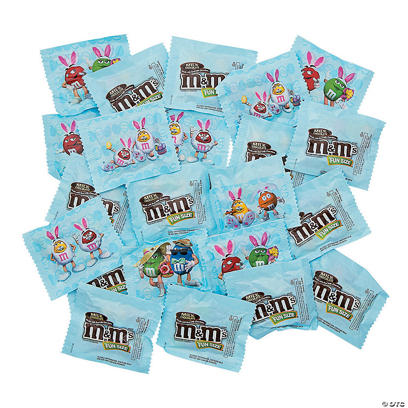 Easter M&Ms® Fun Size Milk Chocolate Candy Treat Packs