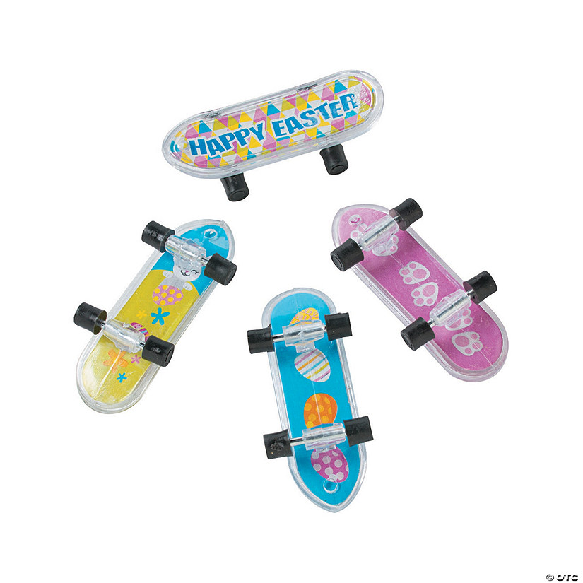 Easter Mini Skateboards