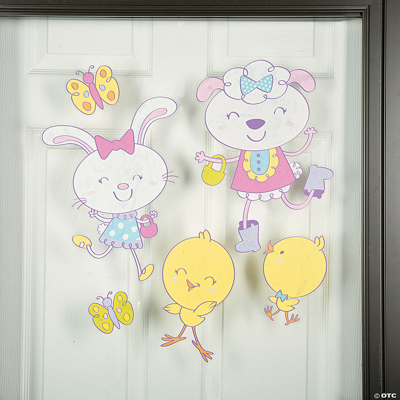 Easter Window Clings