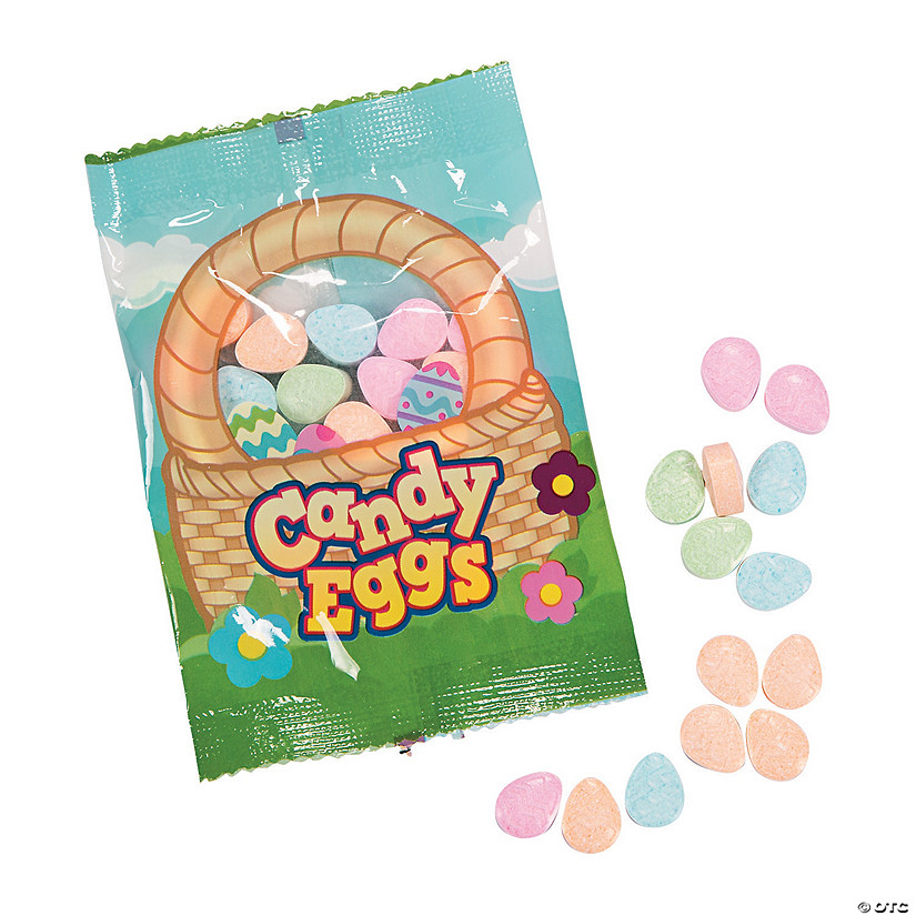 Eggs in a Basket Hard Candy Fun Packs