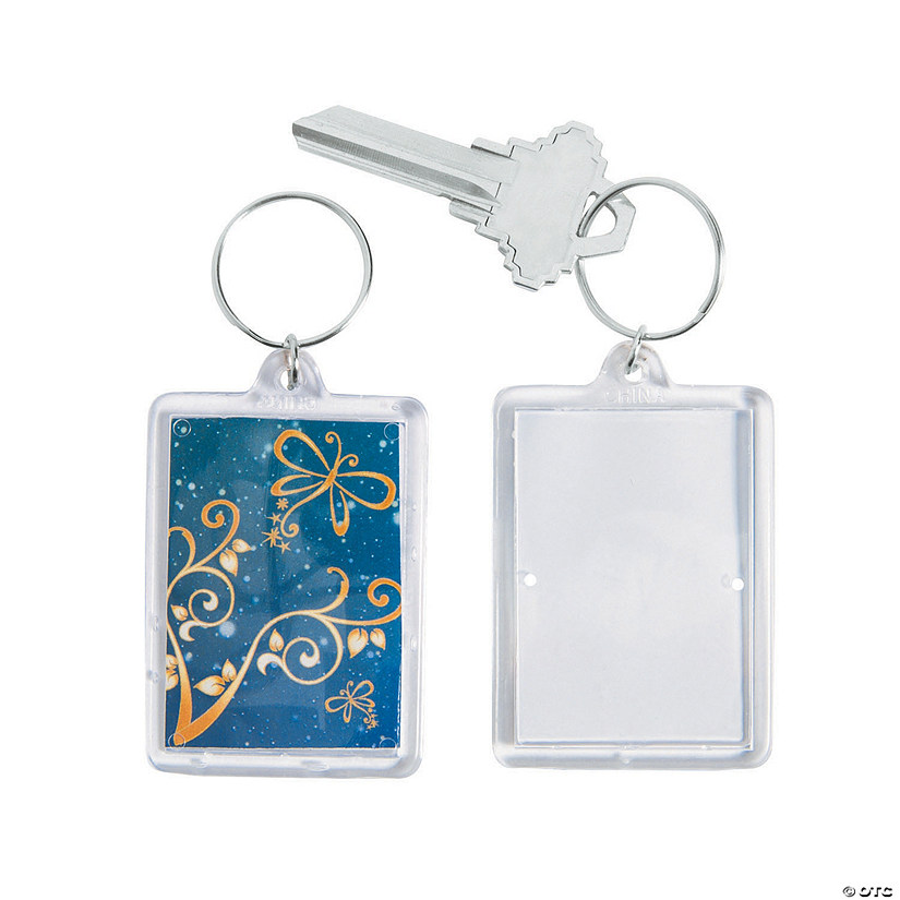 Enchantment Theme Picture Frame Keychains