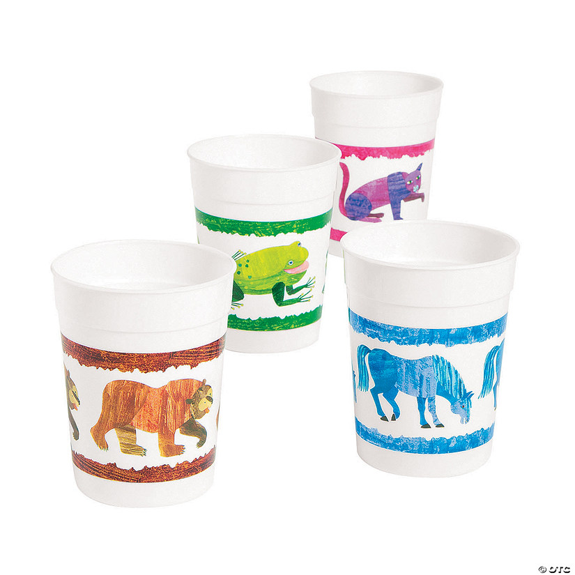 Eric Carle's Brown Bear, Brown Bear, What Do You See? Plastic Tumblers