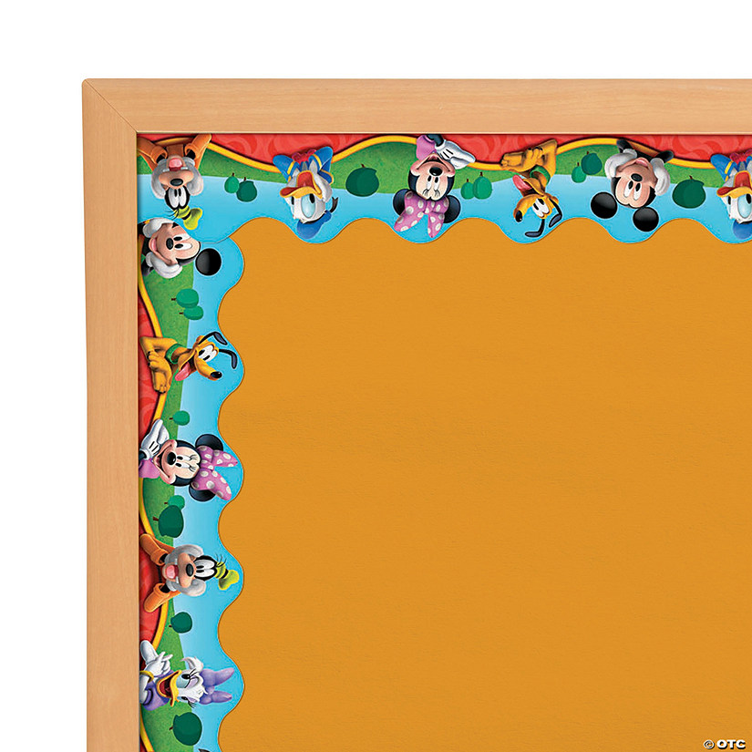 Eureka<sup>®</sup> Mickey Mouse Clubhouse<sup>®</sup> Characters Bulletin Board Borders