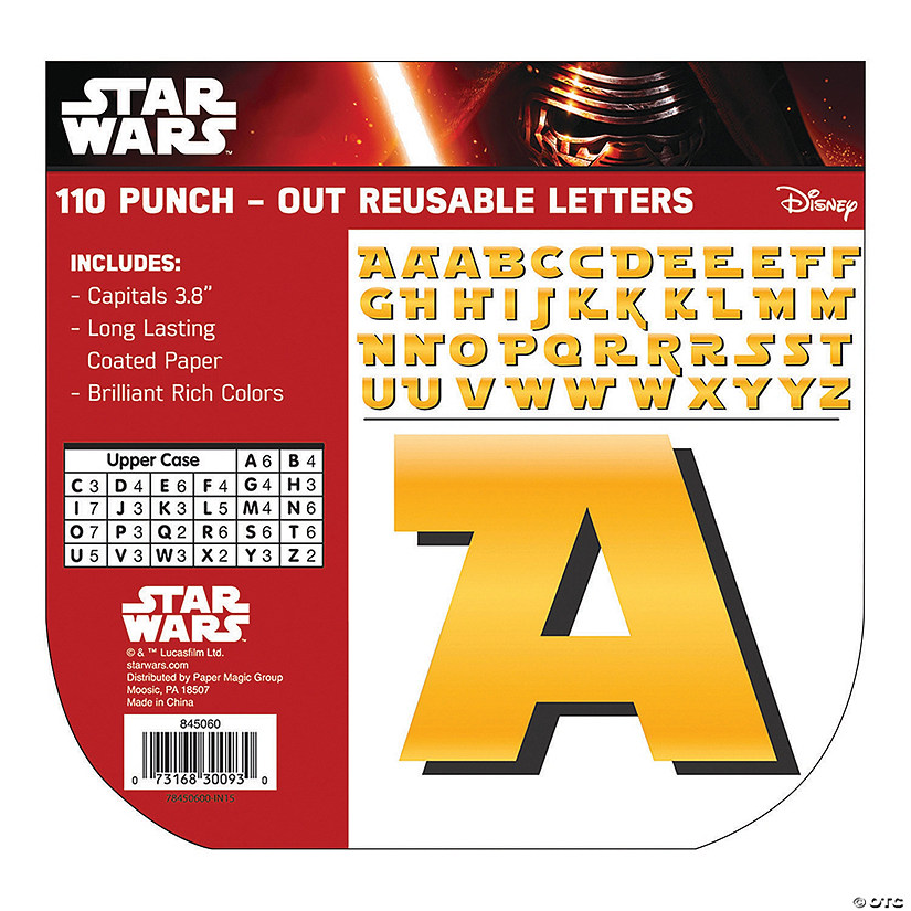 Eureka<sup>®</sup> Star Wars™ Bulletin Board Letters