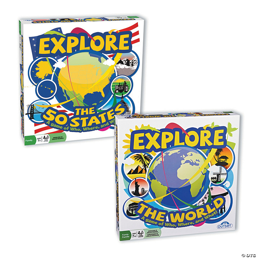 Explore Trivia Games: Set of 2
