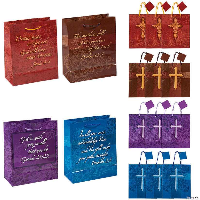 Expressions of Faith Gift Bags with Handles