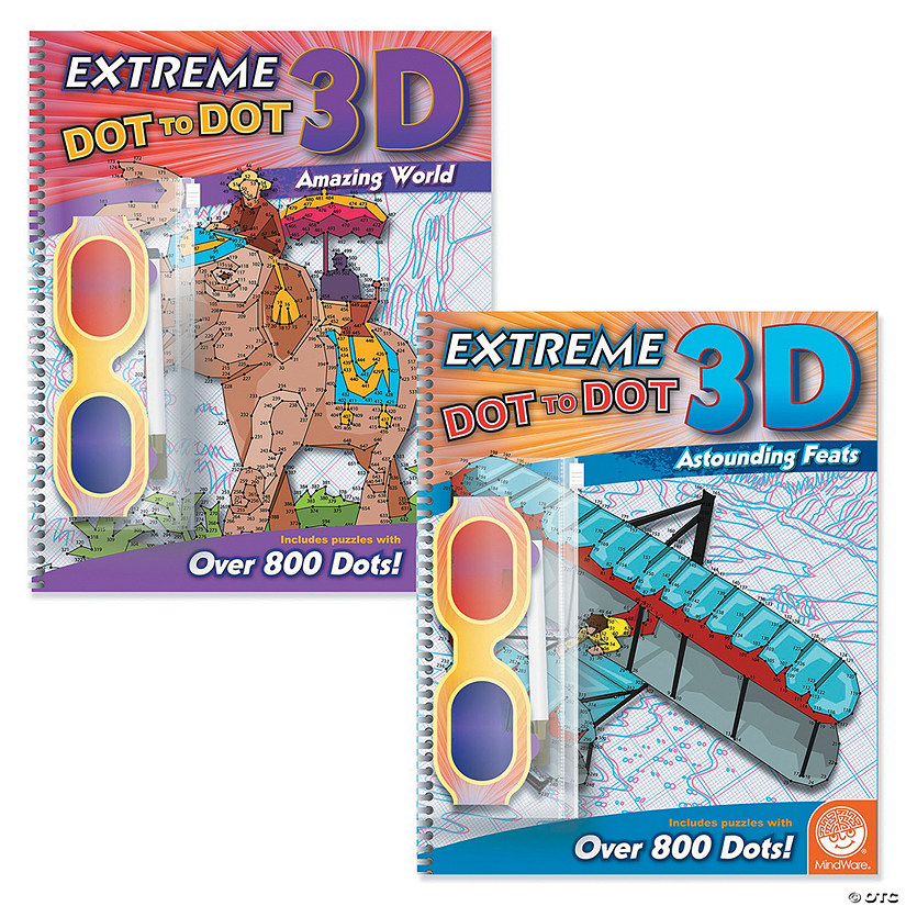 Extreme Dot to Dot 3D: Set of 2