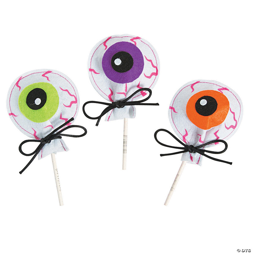 Eyeball Sucker Cover Craft Kit