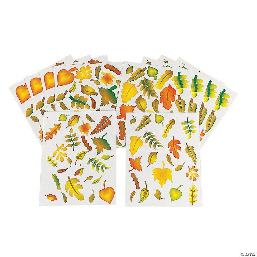 Fabulous Fall Leaves Stickers