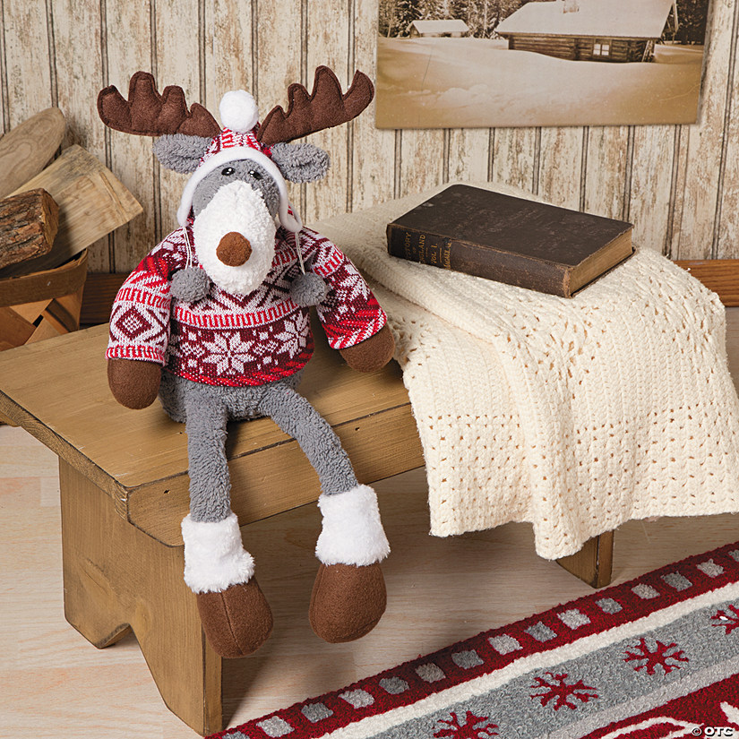 Fair Isle Plush Reindeer