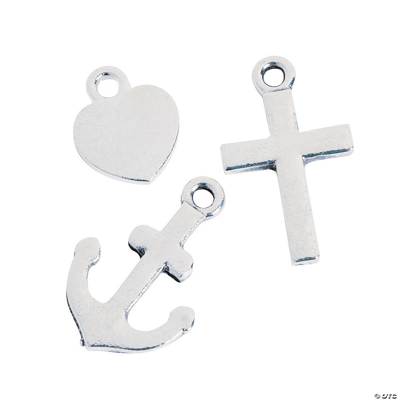 Faith, Hope, Charity Charms