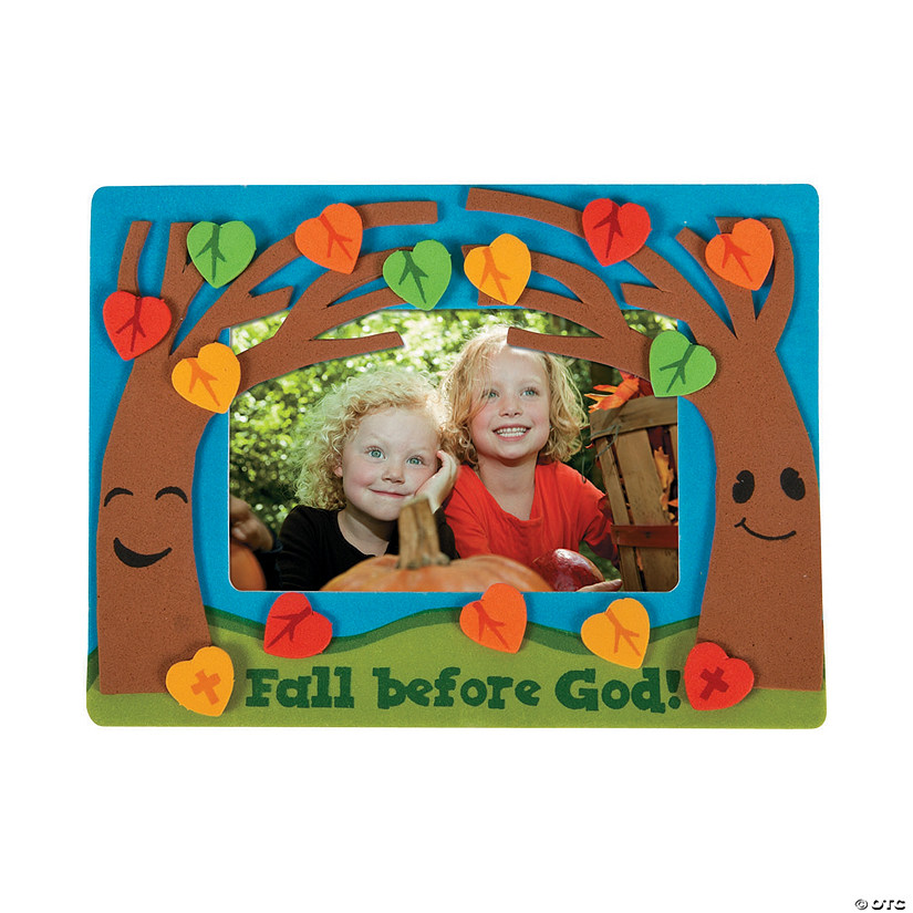 Fall Before God Picture Frame Magnet Craft Kit
