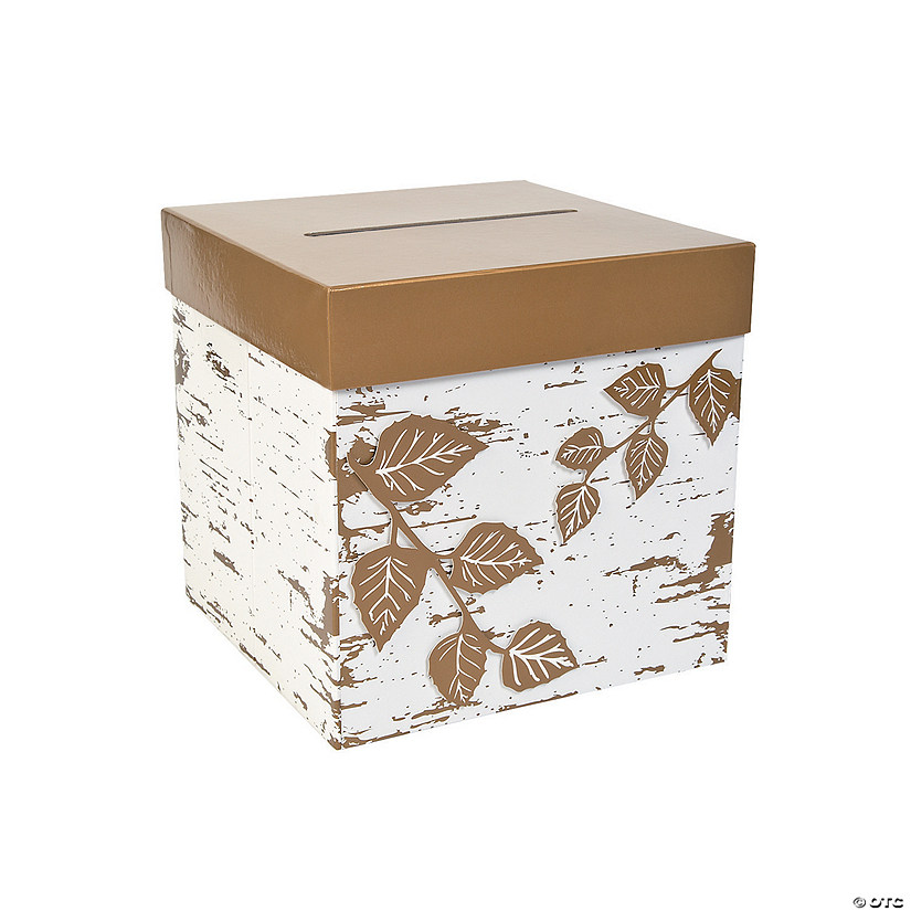 Fall Card Box