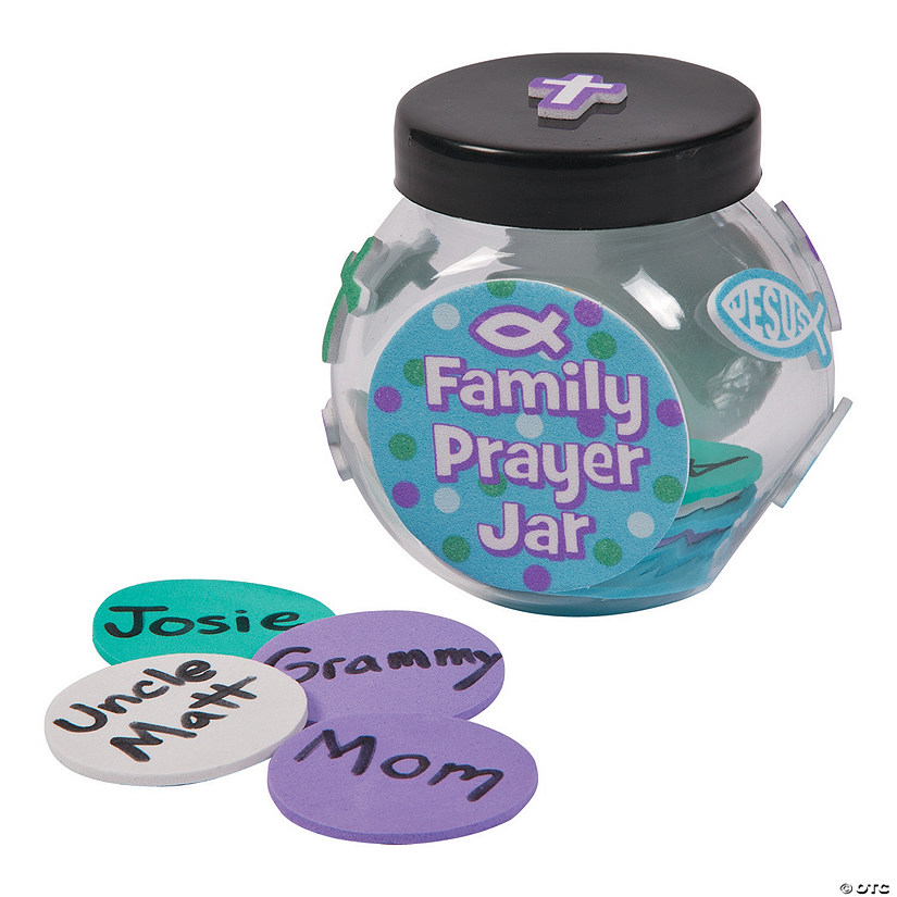 Family Prayer Jar Craft Kit