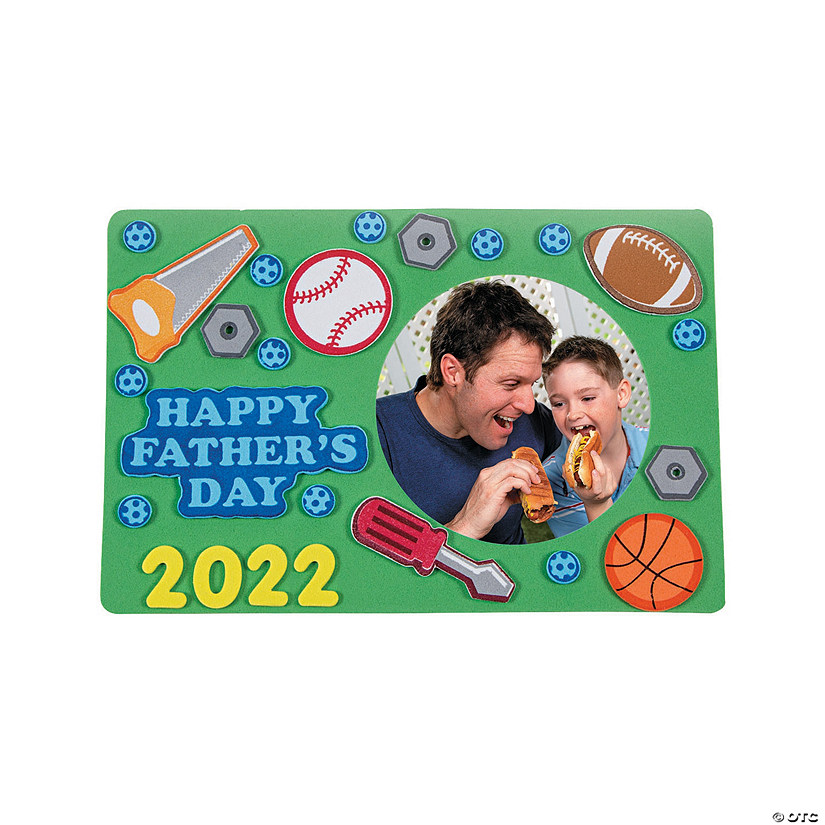 Dad Picture Frame Magnet Craft Kit
