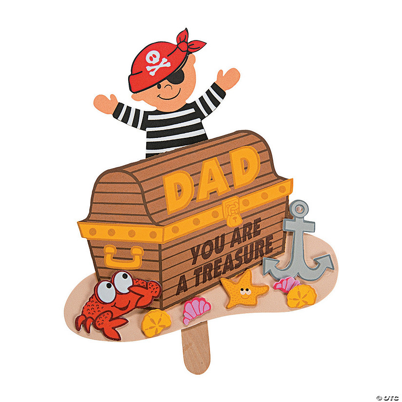 Father's Day Pirate Pop-Up Craft Kit