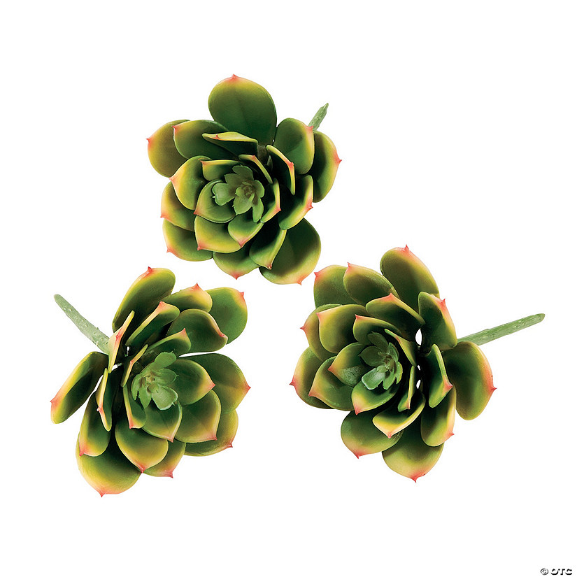 Faux Succulent Picks