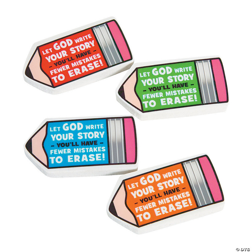 Fewer Mistakes with God Erasers