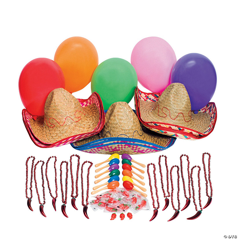 Fiesta Party Pack Assortment For 12