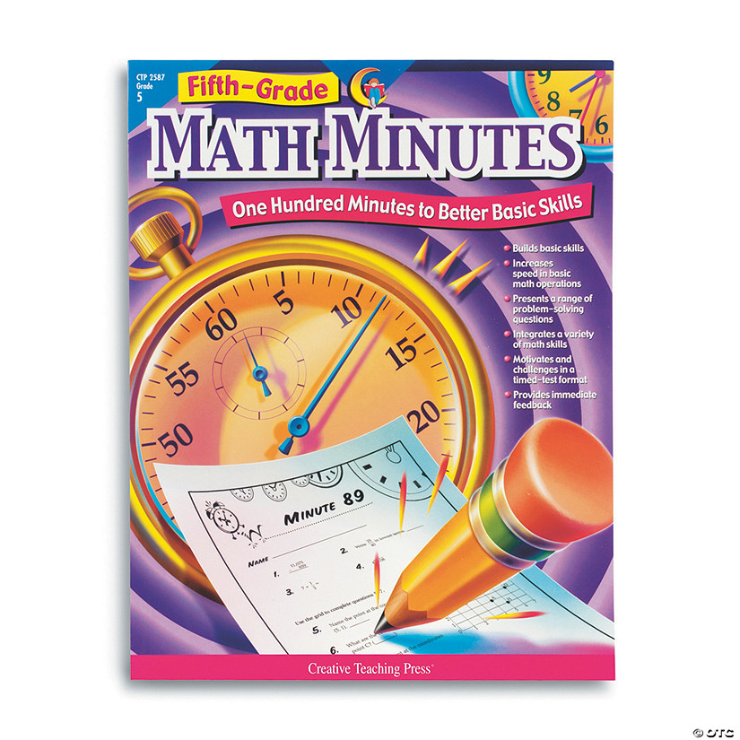 Fifth-Grade Math Minutes