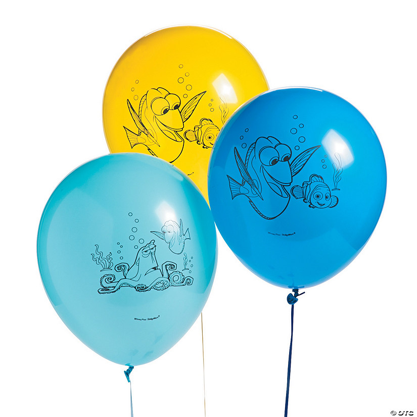 "Finding Dory 12"" Latex Balloons"