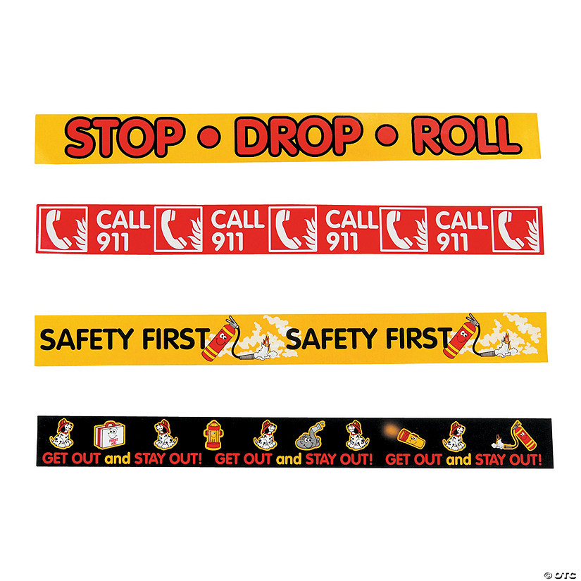 Fire Safety Reminder Bracelets