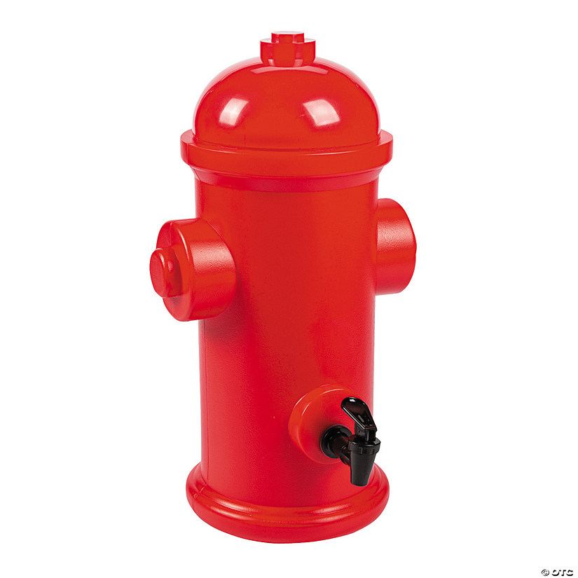 Firefighter Party Hydrant Drink Dispenser